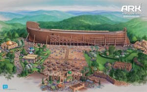 "Noah's ark, as imagined by the ""Ark Encounter"""