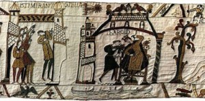 The comet on the Bayeux Tapestry
