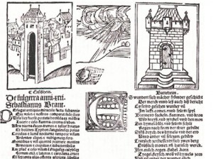 Sebastian Brant's broadside interpreting the Ensisheim meteor in 1492.