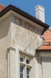 The newer of the sundials at Klosterneuburg dates from the 1570s.