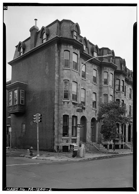 Edward Drinker Cope's house (Historic American Buildings Survey; Library of Congress HABS PA,51-PHILA,539–2)