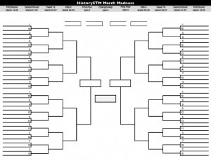 HistorySTM March Madness is coming