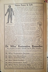 Dr. Miles' Restorative Remedies promised to cure all sorts of ailments.