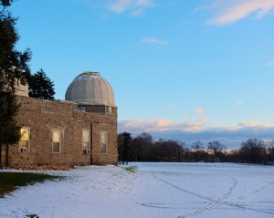 The Strawbridge Observatory at Haverford College, January 2013 (Click for full size image).