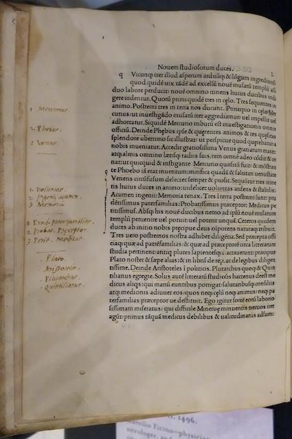 Marsilio Ficino, De vita libri tres (1489).