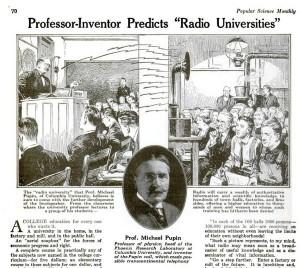 Professor Pupin's MORU: Massively Open Radio University