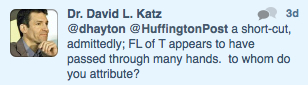 "David Katz dismisses his error as a ""short-cut"" (link)."